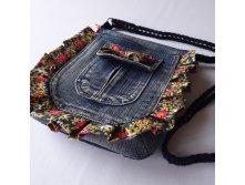 Маленькая сумочка из джинсов