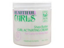 Beautiful Curls, Shea Butter Curl Activating Cream, 8 oz (235 ml)