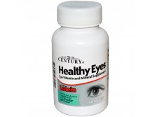 21st Century Health Care, Healthy Eyes with Lutein, 60 Tablets