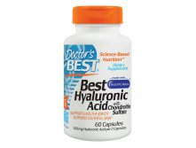 Doctor's Best, Best Hyaluronic Acid, with Chondroitin Sulfate, 60 Capsules
