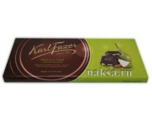 Шоколад FAZER PEAR & ALMONDS in Dark Chocolate, 200 гр.Цена 280 руб.