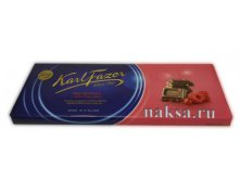 Шоколад FAZER RED BERRIES in Milk Chocolate, 200 гр.Цена 280 руб.
