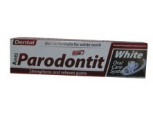 Зубная паста Dental anti paradontit White, 100 мл. Цена 210 руб.