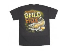 "Футболка ""Gold In Them Gills"" (100% хлопок) Buck Wear, арт.1272, 798 руб"