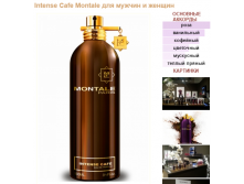 MONTALE Intense Cafe unisex 100ml edp 4000р 10мл 400руб+атом.