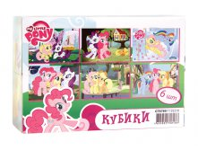 1135210 Кубики GT8789 Пони, 6шт, MY LITTLE PONY - 2шт - 59,00.jpg