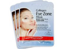 Purederm Collagen Eye Zone Mask, 30 шт