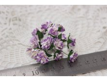 2-TONE LILAC ASTER DAISY STEM FLOWERS 15мм