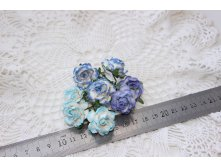 набор MULBERRY PAPER COTTAGE ROSES 25mm 8шт- 85 руб