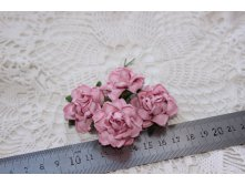 MULBERRY PAPER COTTAGE ROSES 30mm