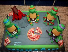 1000 images about gâteau tortue ninja on pinterest 0.jpg