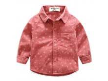 "Рубашка HLO Baby ""Star Boys""  Red 490р 3(98) 4(104) 5(110) 6(116) 7(122)"