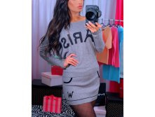 Костюм 2 в 1 юбка и кофта PARIS grey- 990 руб.