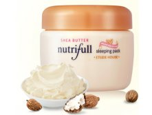 Etude House - ночная маска Nutifull Shea Butter Sleeping Pack, 100 ml