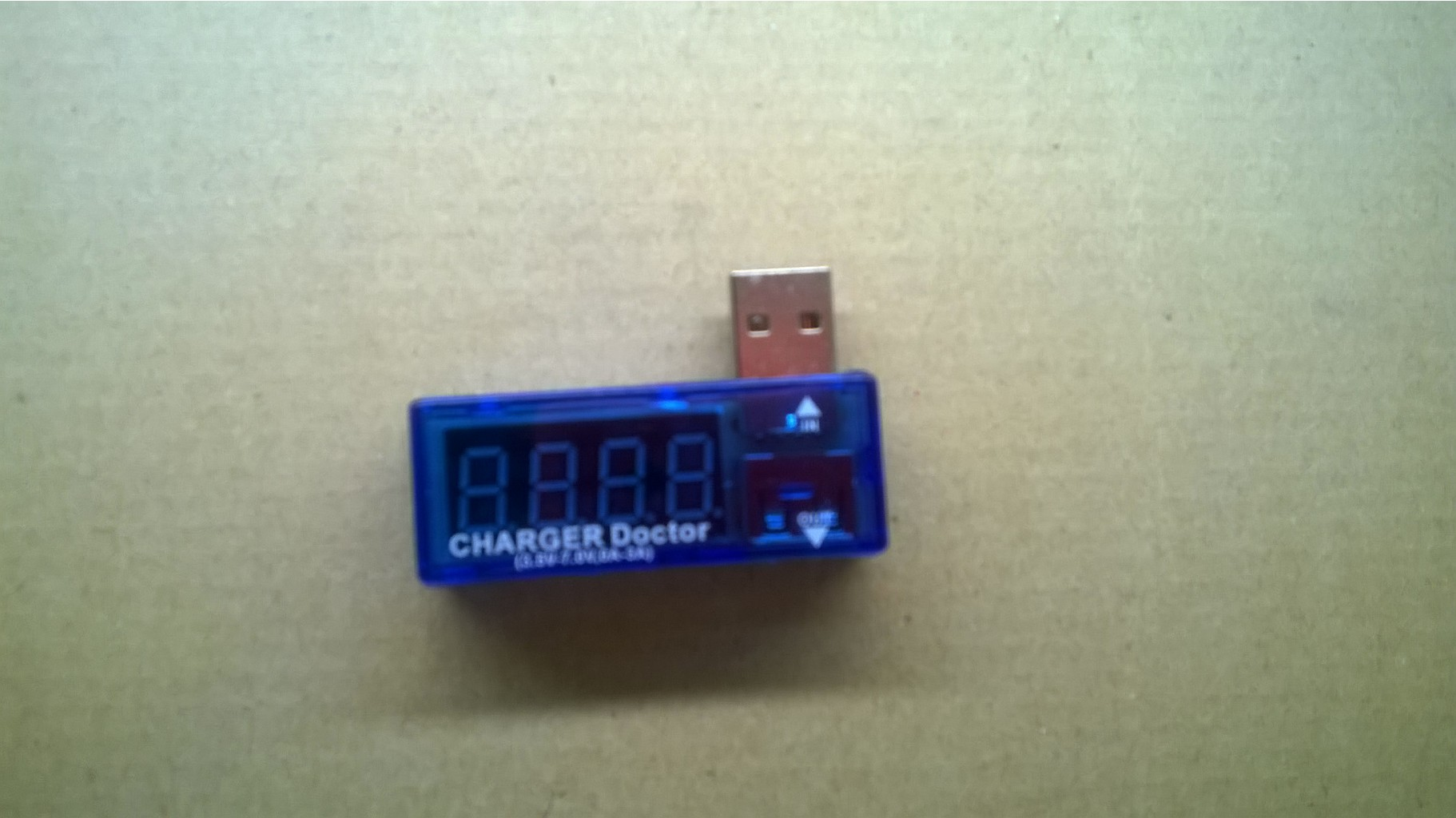 Тестер USB Charger Doctor