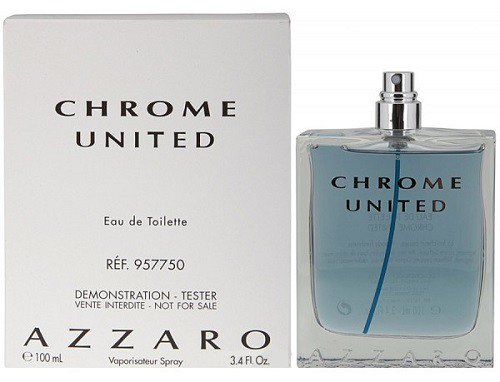 AZZARO Chrome United Т/вода муж 100мл TESTER